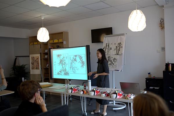 C.HUB spațiu de coworking curs de limba chineză